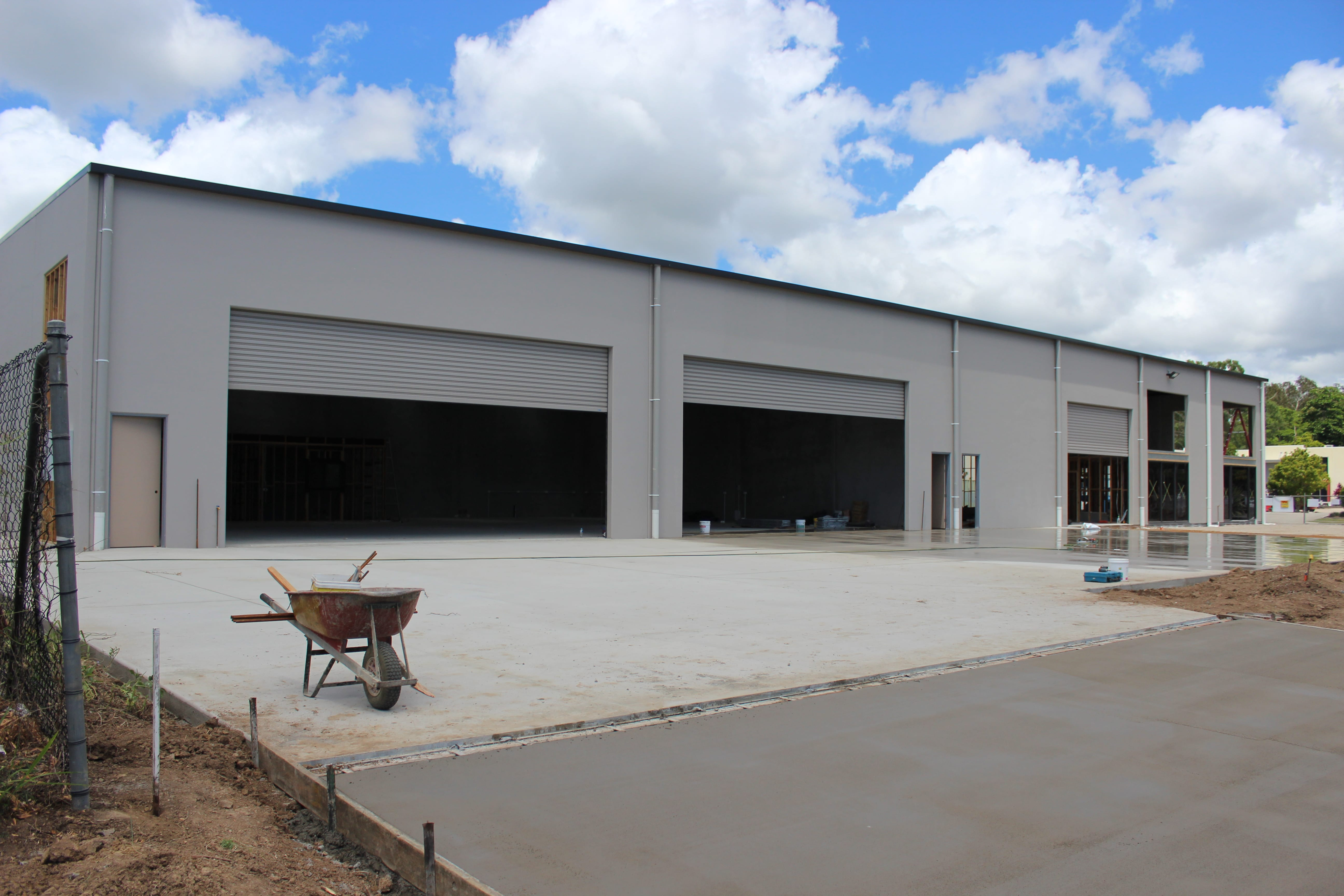 New Commercial Shed – Cannonvale